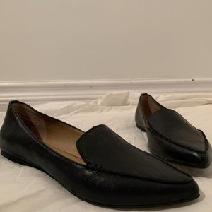 NWOT Steve Madden Pointed Leather Loafers